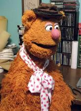 Fozzie Bear prototype poser puppet profile by Terry Angus